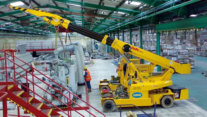 leasing machinery